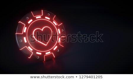 3d suit hearts Stock photo © cidepix