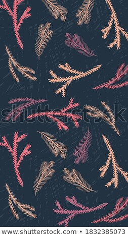 Seamless backgorund: retro floral texture Stock photo © johnnychaos