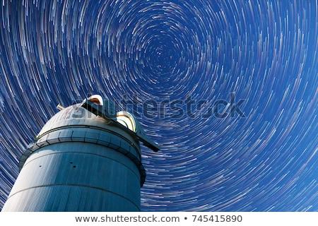 sterrenkundig · koepel · blauwe · hemel · daglicht · hemel · leren - stockfoto © lunamarina