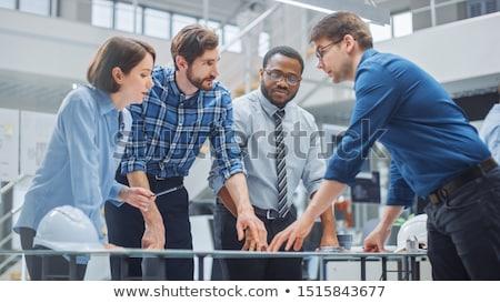 Zdjęcia stock: Engineers Meeting