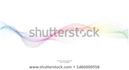 Resumen arco iris energía negro espacio Foto stock © DavidArts