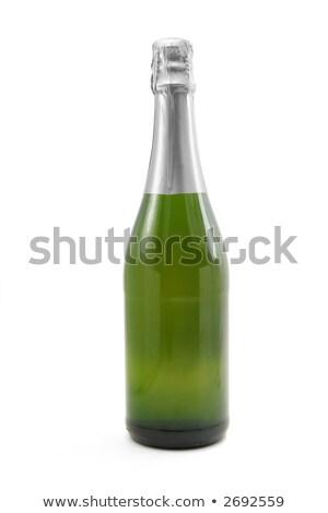 şampanya üst kapalı mantar su Stok fotoğraf © toaster