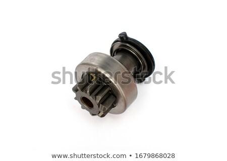 Pormenor carro metal dentes poder engrenagem Foto stock © vrvalerian