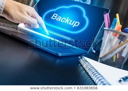 cloud backup stock photo © bbbar