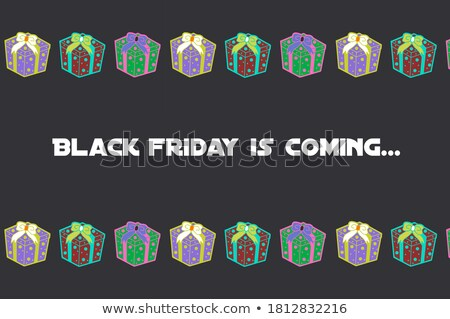 friday in 3d coloured cubes Stock photo © marinini