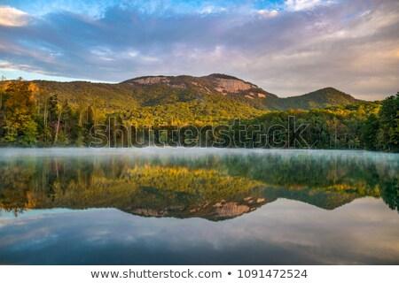 日の出 山 サウスカロライナ州 青 ストックフォト © iriana88w