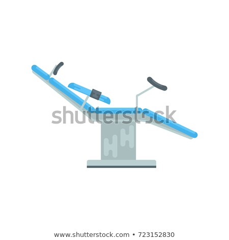 medical gynecological chair vector illustration Stock photo © konturvid