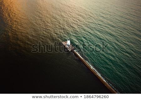 光 反射 北 灯台 ミシガン州 空 ストックフォト © Kenneth_Keifer