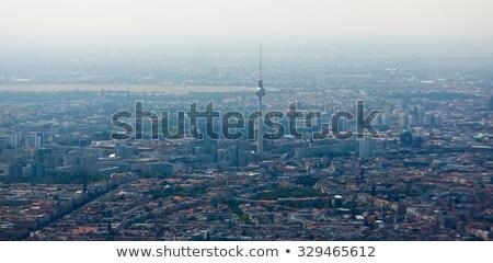 ベルリン · 表示 · 市 · ドイツ · スカイライン - ストックフォト © prill
