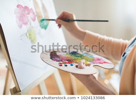 Atelier peinture Photo stock © zzve