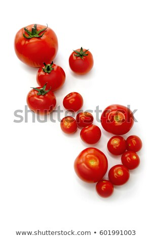 Red Tomato on White Vertical Stock photo © lisafx