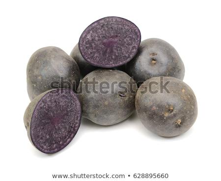 tas · pommes · de · terre · isolé · blanche · légumes · légumes - photo stock © bobkeenan