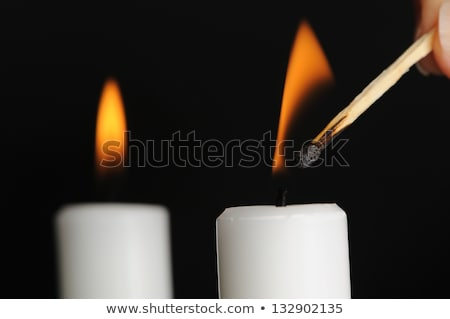 candle being lit stock photo © curaphotography