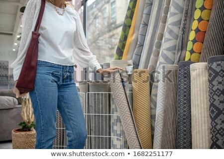 szőnyeg · afrikai · kreatív · terv · elemek · absztrakt - stock fotó © stocksnapper