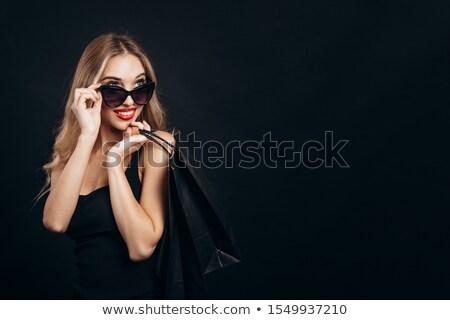 skittish young blond lady stock photo © acidgrey