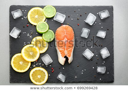 ice cube and pepper stock photo © givaga