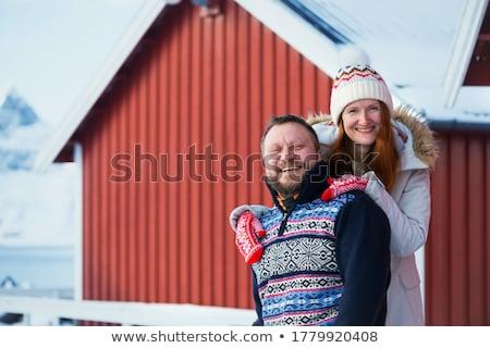 Сток-фото: Норвегия · птиц · глаза · мнение · живописный