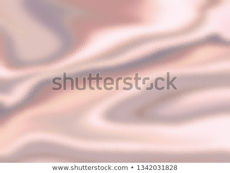 pearls on a silk fabric background stock photo © redpixel