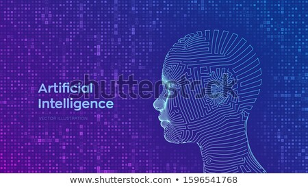Head Binary Stock photo © idesign