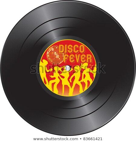 Vinyl record with disco fever stock photo © Silvek