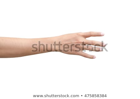 Stock photo: Male hand grabbing something