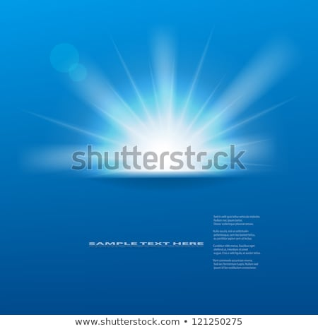sun background blue stock photo © quka