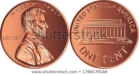 Penny zwarte Stockfoto © devon