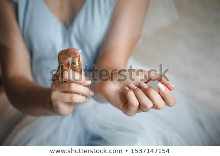 parfüm · şişe · cam · güzellik · kozmetik - stok fotoğraf © kmwphotography