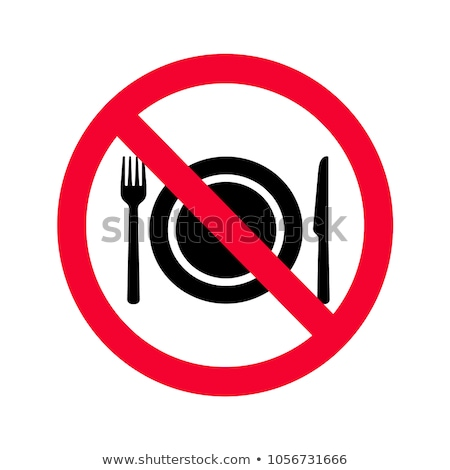 Sign no knifes Stock photo © Ustofre9