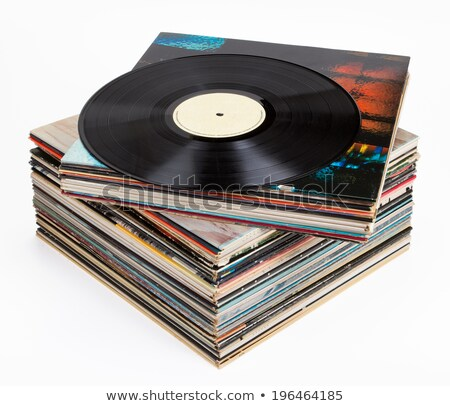 Record piled up Stock photo © zzve