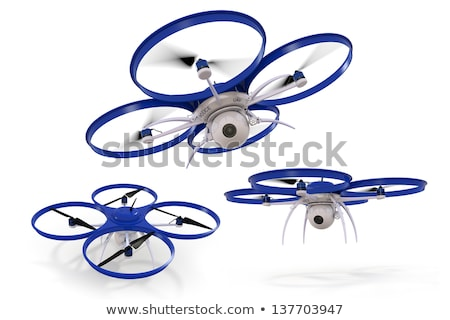 Police Surveillance Drone Stock photo © raptorcaptor