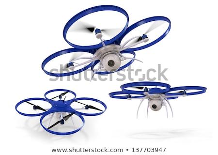 空 · 飛行 · 青空 · 技術 · 平面 · ロボット - ストックフォト © raptorcaptor