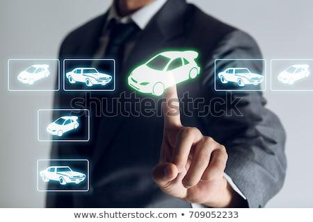 összehasonlítás vásárlás autó vásárló boltok egy Stock fotó © iqoncept