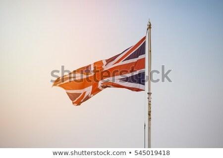 British flag in sun Stock photo © marinini