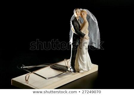 marriage seen as a mouse trap stock photo © lunamarina