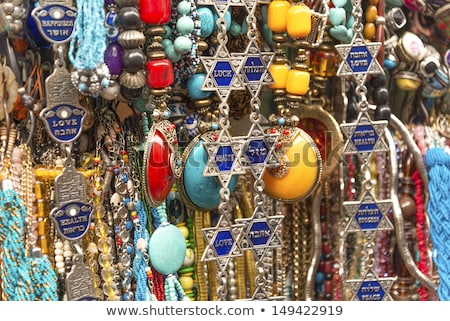 tourist souvenirs in jersualem israel Stock photo © travelphotography