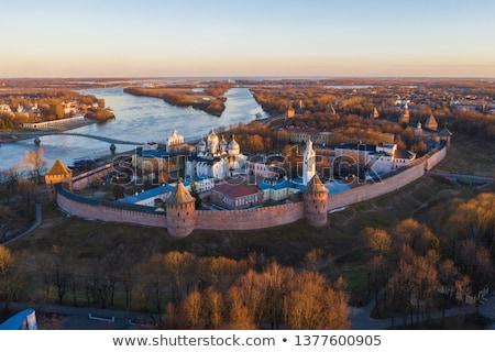 Ancient fortress Novgorod Stock photo © Alenmax
