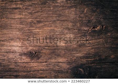 Eski doğal ahşap yatay 100 yıl Stok fotoğraf © artlens