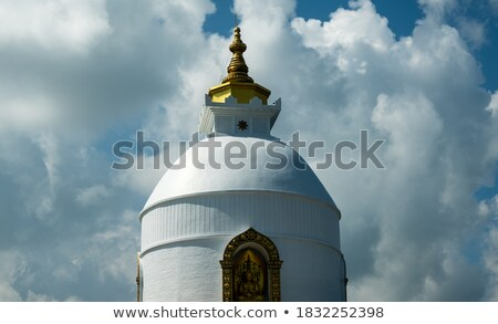 美しい · 白 · 寺 · 現代の · タイ - ストックフォト © ssuaphoto