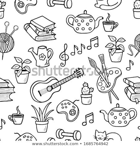 Couleur papier résumé équipe puzzle Photo stock © gladiolus