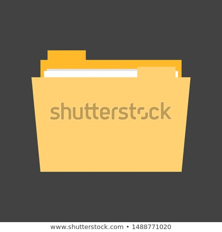education news on yellow in flat design stock photo © tashatuvango