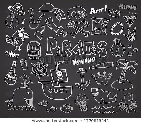 Stock photo: Pirate symbol