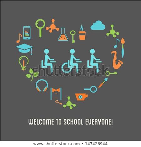 különleges · oktatás · lassú · tanul · főiskola · iskola - stock fotó © tashatuvango