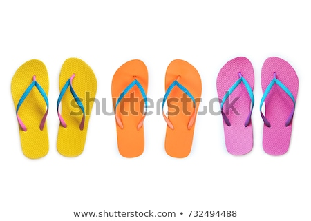 Woman sandals isolated on the white Stock photo © Elnur