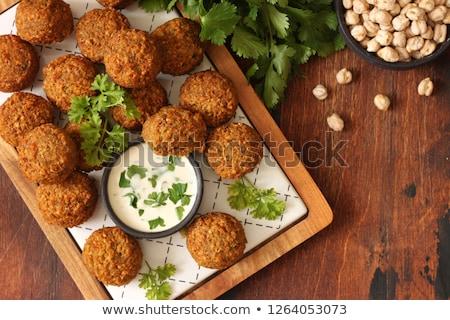 falafel stock photo © m-studio