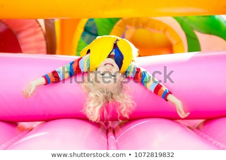 Boy Playing On Trampoline Stock photo © monkey_business