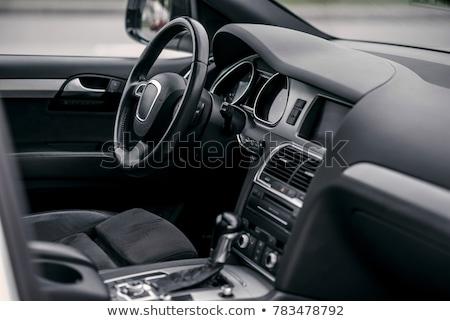 tuned sport car luxury leather interior stock photo © nejron