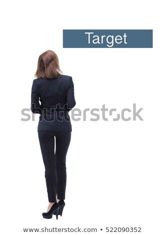 businesswoman - back side stock photo © dgilder