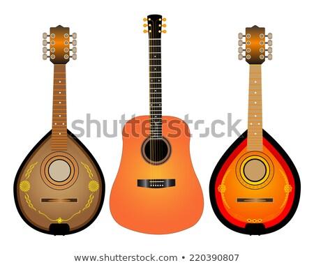 guitar and two Mandalina Stock photo © mayboro1964