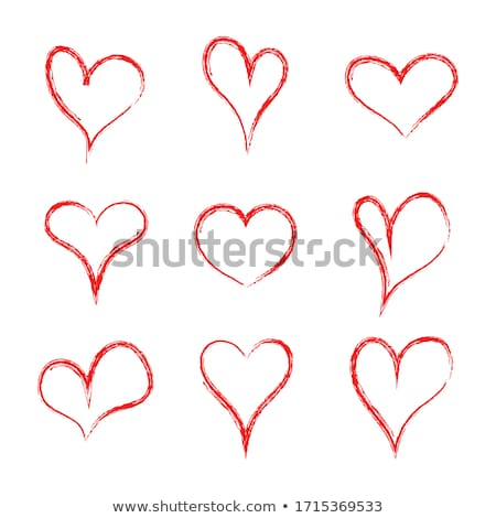 Abstract Hearth symbol Stock photo © eltoro69